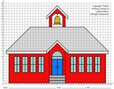 School House, 1st Day, 100th Day, Coordinate Graphing, Coordinate Drawing