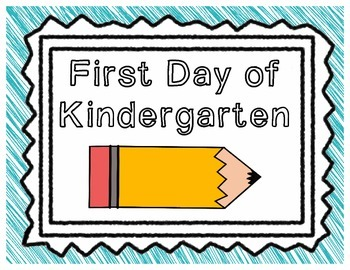 First Day/Last Day of School Signs (Kindergarten - 6th Grade)