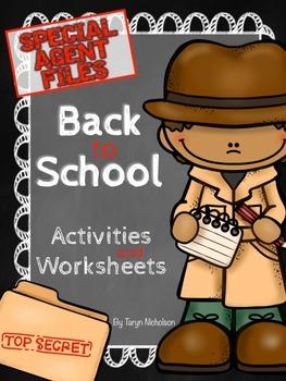 Back to School - Detective Theme