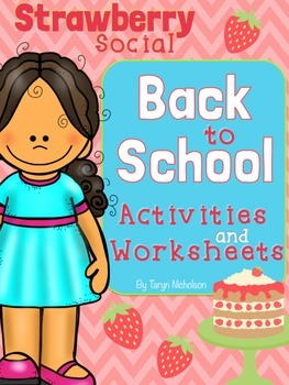 Back to School - Strawberry Social