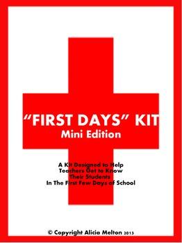 First Days Kit: Mini Edition