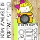 First Days Of School Snapshot Writing Craftivity - Print & Go!