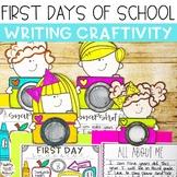 First Days Of School Snapshot Writing Craftivity - Print & Go!