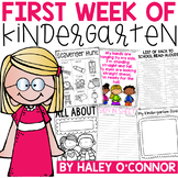 Beginning of the Year Activities and Lessons For Pre-K and Kindergarten