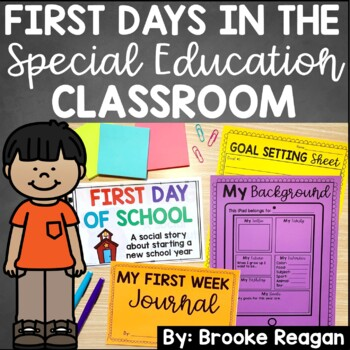 First Days in Special Education