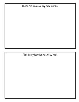 First Days of 1st grade