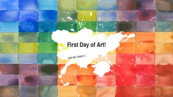 First Days of Art!