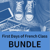 First Days of French Class BUNDLE