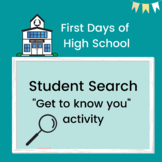 First Days of High School: Student Search