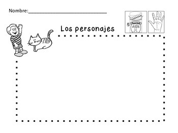 Kindergarten Beginning Writing Packet (Spanish)