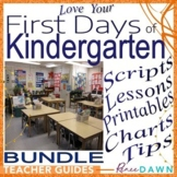 First Days of Kindergarten – Kindergarten Teacher's BUNDLE