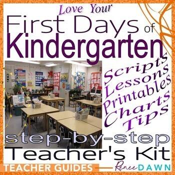 First Days of Kindergarten – Kindergarten Teacher's Kit