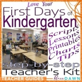 First Days of Kindergarten – Kindergarten Teacher's Kit