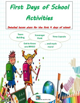 First Days of School Activities
