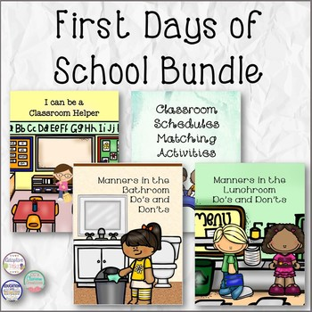 First Days of School Bundle