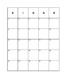 First Days of School: Getting To Know You Bingo
