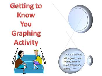 First Days of School Getting to Know You Graphing Activity