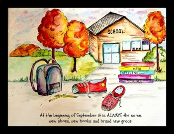 First Days of School Picture Book