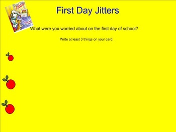 First Days of School Reading Lessons
