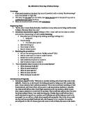 First Days of School Script (editable)