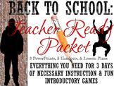 First Days of School High School Style Teacher Packet: Usa