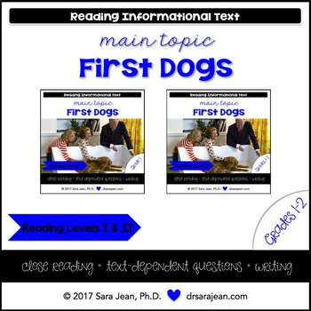 The first dog teaching resources teachers pay teachers first dogs reading comprehension passages and questions rl i ii fandeluxe Image collections