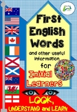 First English Words for Initial Learners