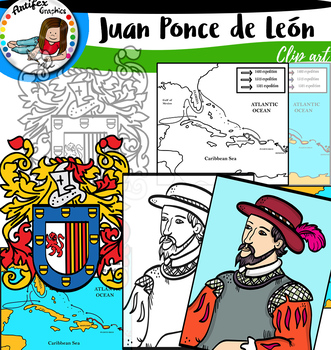 First Explorers to America- Juan Ponce de León