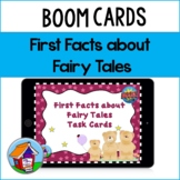 First Facts about Fairy Tales Task Cards with BOOM Card Option