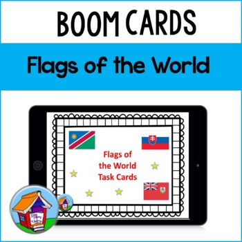 First Facts about World Flags Task Cards