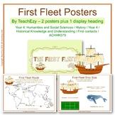 First Fleet Australia Posters