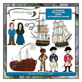 First Fleet Clipart