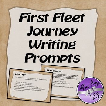 First Fleet Journey Writing Prompts