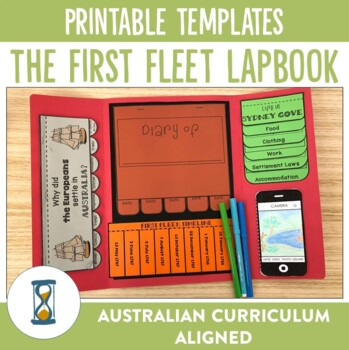 The First Fleet Lapbook Activities and Unit Plan