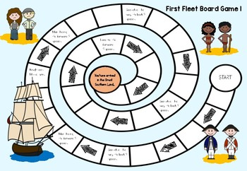 First Fleet Revision Board Games
