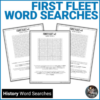 First Fleet Word Searches - ACHASSK085