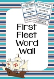 First Fleet Word Wall