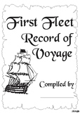 First Fleet Workbook & Plan