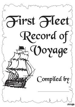 First Fleet Workbook & Plan