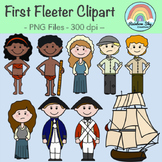 First Fleet Clipart - Year 4