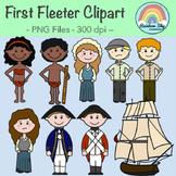 First Fleet Clipart - Year 4