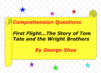 First Flight...The Story of Tom Tate and the Wright Brothers