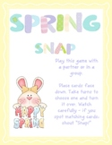First Fractions - whole, halves and quarters spring snap