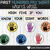 Sight Word Practice : First Hundred Fry List