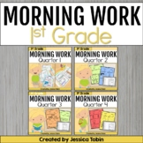 First Grade Morning Work Bundle with Google Classroom Distance Learning