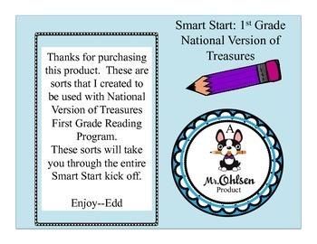 First Grade 1st Smart Start National Version Treasures Sorts