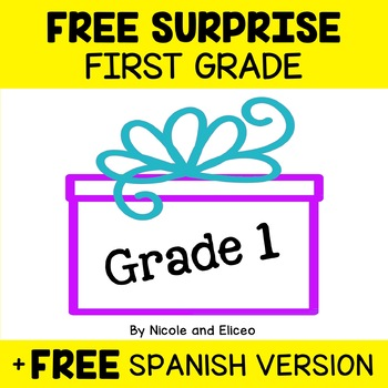 Free Download - First Grade Resources