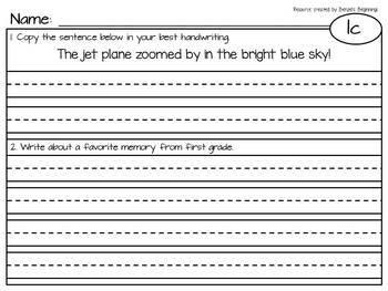 1st Grade into 2nd Grade A Beka Summer Review