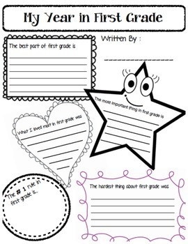 First Grade ASL End of Year Reflection