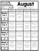 Homework Packet: First Grade   August